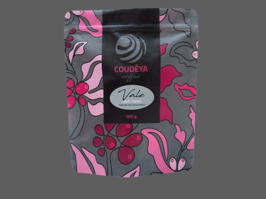 Kaffee, Kaffeebohnen, Café Crema, 100 % Hochland Arabica, Coudéya Coffee